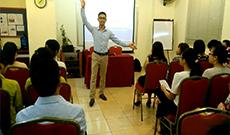 Hình ảnh buổi tọa đàm Con đường vào nghề Kế toán