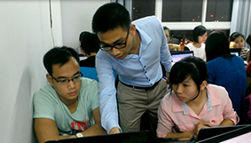 Hình ảnh tiêu biểu các lớp Kế toán thực tế trên EXCEL