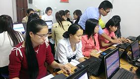 Hình ảnh tiêu biểu các lớp Kế toán thực hành KÊ KHAI THUẾ