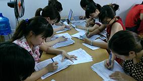 Hình ảnh tiêu biểu các lớp Kế toán trên CHỨNG TỪ THỰC TẾ