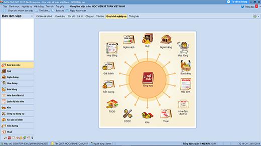 Học kế toán tổng hợp thực tế Online trên phần mềm kế toán MISA